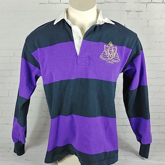 701e061076b Barbarian Rugby Polo Other - Barbarian Rugby Polo Striped Phi Sigma Sigma  Shirt